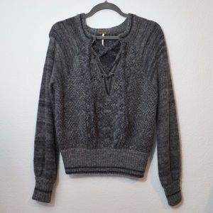 \Free People\• Cozy Wool Sweater